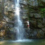  -Waterfall nearby.  Visit by horseback